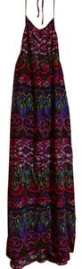 Purples, Blues, Pink, Green, Black Maxi Dress by Xhilaration