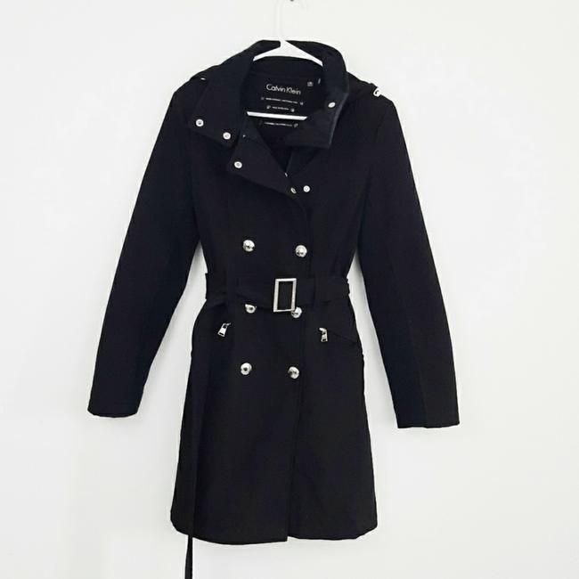 Item - Black Soft Shell Coat Size 4 (S)