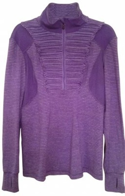 Preload https://item1.tradesy.com/images/lululemon-purplegray-strip-runn-your-heart-out-activewear-size-10-m-31-28205-0-0.jpg?width=400&height=650