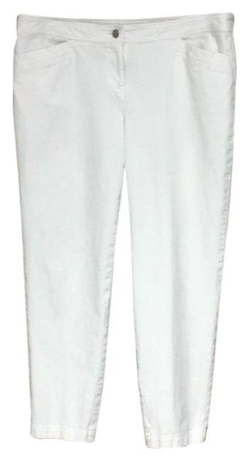 Item - White Cotton Pants Size 8 (M, 29, 30)