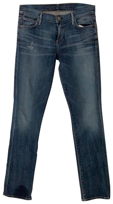 Item - Distressed Ava Boot Cut Jeans Size 8 (M, 29, 30)