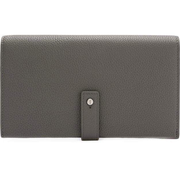 Item - Grey Sac de Jour Souple Thin Wallet