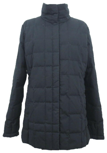 Item - Black Quilted Puffer Coat Size 8 (M)