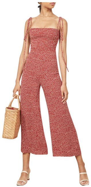 Item - Red Maxwell Romper/Jumpsuit