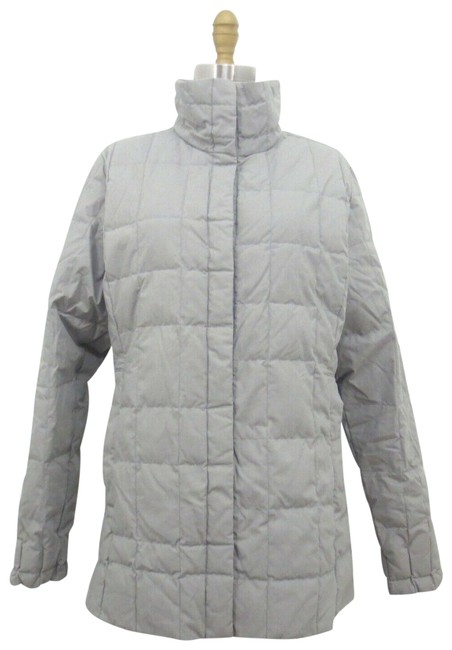 Item - Gray Quilted Puffer Coat Size 8 (M)