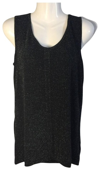 Item - Black Glitter Tank Top/Cami Size 16 (XL, Plus 0x)