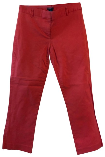 Item - Orange Stretch City Fit 0 Pants Size 0 (XS, 25)