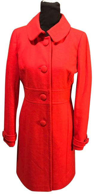 Item - Red Lady Day Coat Size 4 (S)