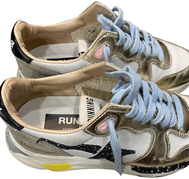 Item - Gold Running Sole Sneakers Size EU 36 (Approx. US 6) Regular (M, B)