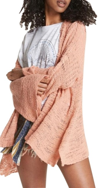 Item - Peach Kimono In My Element Cardigan Size 2 (XS)