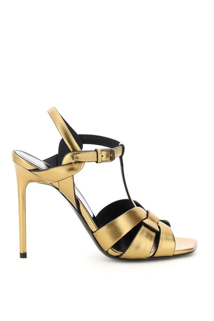 Item - Gold Tribute Sn Dark Sandals Size EU 36 (Approx. US 6) Regular (M, B)