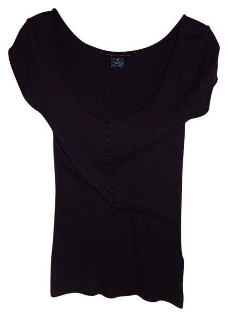 Preload https://item5.tradesy.com/images/french-connection-blue-blouse-size-8-m-2820769-0-0.jpg?width=400&height=650