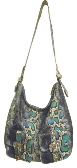 Preload https://item3.tradesy.com/images/charm-and-luck-large-snake-printleather-blue-leather-cross-body-bag-2820772-0-0.jpg?width=440&height=440