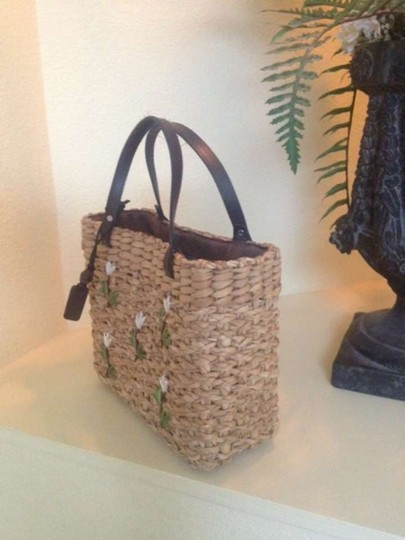 Esprit Tote in Natural Straw