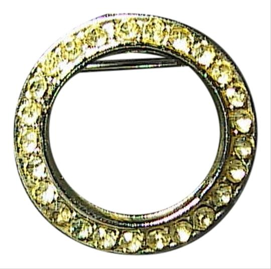 Preload https://item1.tradesy.com/images/silver-tone-and-yellow-rhinestone-brooch-2820880-0-0.jpg?width=440&height=440