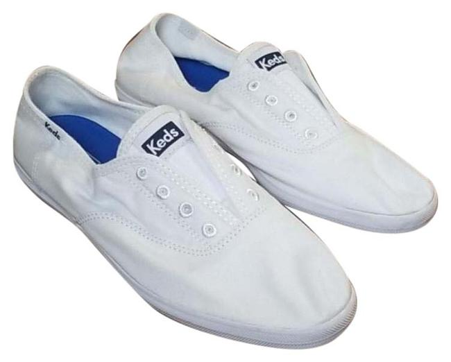 Keds White Women's Champion Ortholite®️ Lace-up Oxford Fashion Sneakers Boots/Booties Size US 8 Regular (M, B) Keds White Women's Champion Ortholite®️ Lace-up Oxford Fashion Sneakers Boots/Booties Size US 8 Regular (M, B) Image 1