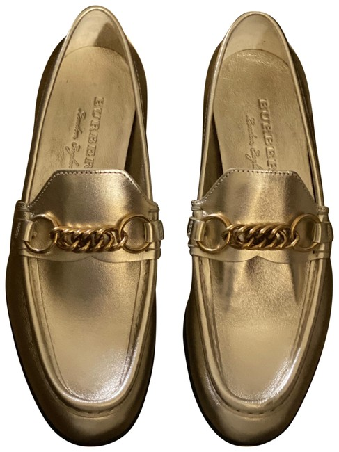 Item - Gold Solway Light Chain Loafers Flats Size US 9 Regular (M, B)
