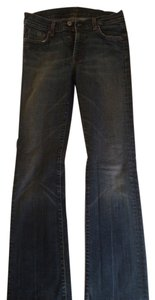 7 For All Mankind Man Kin Straight Leg Jeans