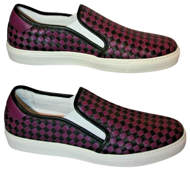 Item - Black/Purple Dodger Checkered Sneaker Nero/Monal Men's 10 Euro D Flats Size EU 43 (Approx. US 13) Wide (C, D)