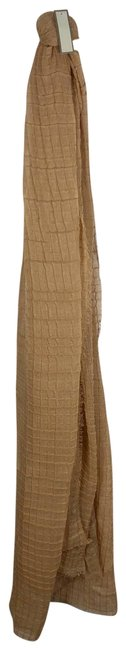 Item - Tan Scarf Textured 78 Inches 1357 Poncho/Cape Size OS (one size)