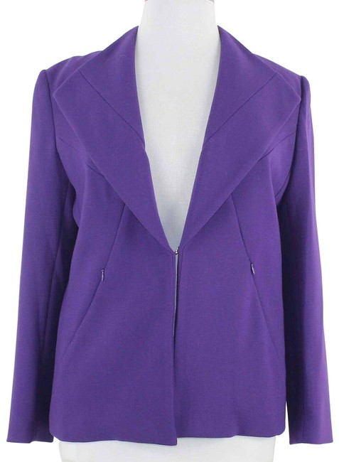 Item - Purple Lined Jacket Size 16 (XL, Plus 0x)