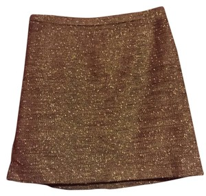 Apt. 9 Skirt Gold shimmer