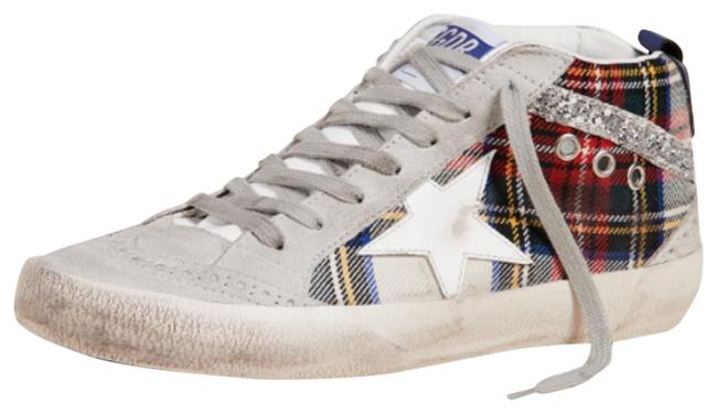 Item - White / Red / Silver / Ice / / Mid Star Sneakers Size US 9 Regular (M, B)