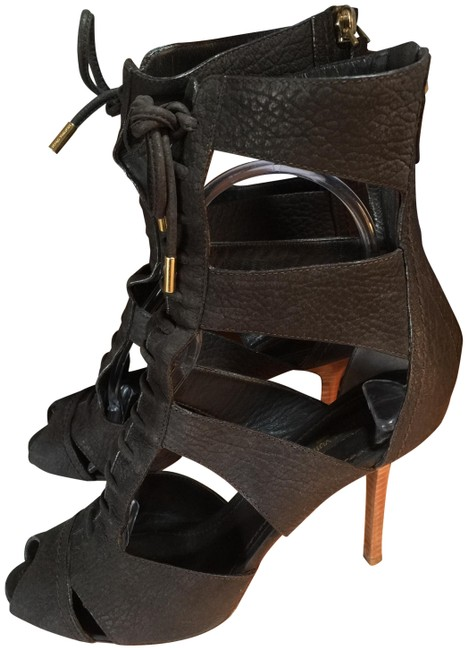 Item - Dark Forest Green Italy Gladiator Boots/Booties Size EU 38 (Approx. US 8) Regular (M, B)