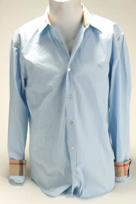 Item - Blue Light Novacheck Slim Fit Dress Shirt