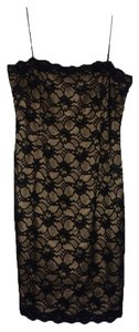 Jones New York Lace Strap Knee Dress