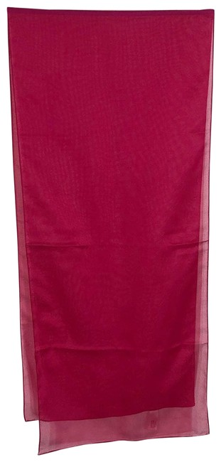 Item - Red Scarf Italian 54 Inch Length Accessory Poncho/Cape Size OS (one size)