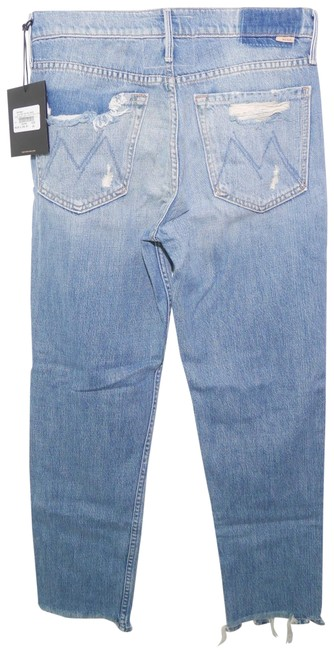 Item - Blue Medium Wash Superior Cardinal Sinner High-rise Ankle Chew In Saving Grace Straight Leg Jeans Size 25 (2, XS)