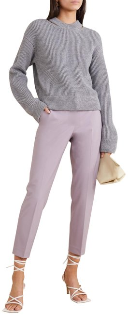 Item - Lilac Pull-on Tailored Fit Crop Pants Size 10 (M, 31)