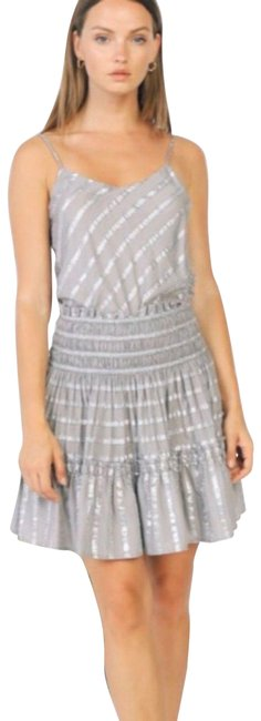 Anthropologie Silver/ Gray 1950217 Skirt Size 12 (L, 32, 33) Anthropologie Silver/ Gray 1950217 Skirt Size 12 (L, 32, 33) Image 1