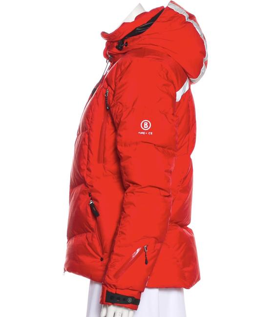 Item - Red Fire + Ice Coat Size 8 (M)