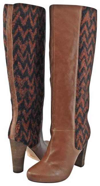 Item - Cognac Royale Leather Tall Boots/Booties Size EU 37 (Approx. US 7) Regular (M, B)