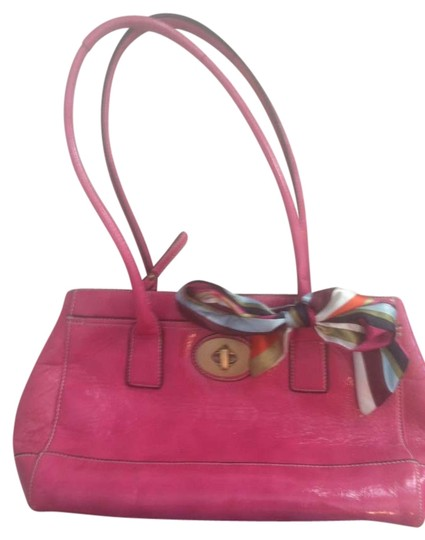 Preload https://item1.tradesy.com/images/coach-pink-leather-satchel-282155-0-0.jpg?width=440&height=440