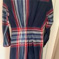 Anthropologie Navy Red White Outlander Mid-length Short Casual Dress Size 8 (M) Anthropologie Navy Red White Outlander Mid-length Short Casual Dress Size 8 (M) Image 8