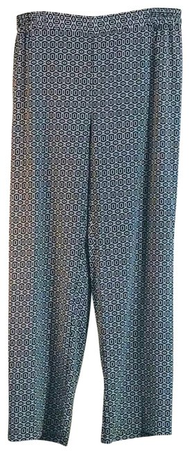 Item - Black and White Runway Style Pants Size 16 (XL, Plus 0x)