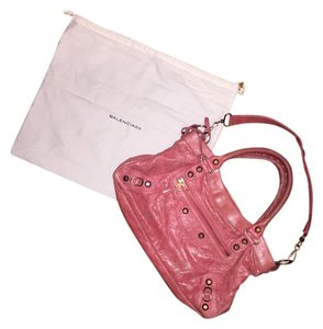Balenciaga Leather Mirror Summer Shoulder Bag