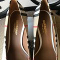 Burberry Beige Check Pattern Cotton Pumps Size EU 36.5 (Approx. US 6.5) Regular (M, B) Burberry Beige Check Pattern Cotton Pumps Size EU 36.5 (Approx. US 6.5) Regular (M, B) Image 5