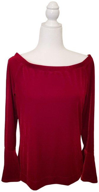 Item - Collection Red Velvet Sweater