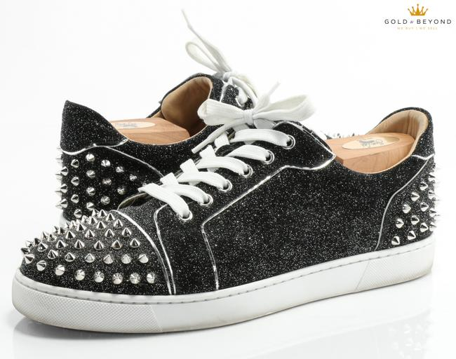Item - Black Viera 2 Flat Low Top Sneakers Size 42 Shoes