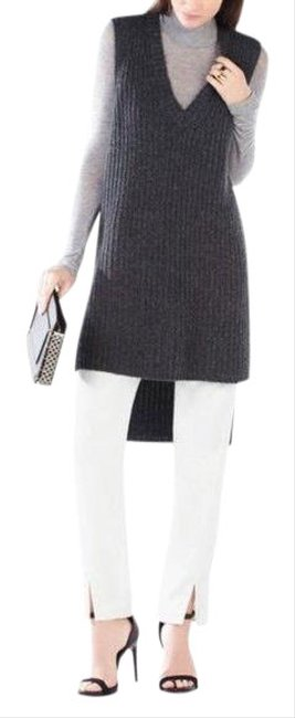 Item - Gray Simonette Knit Sweater Dark Heathered Tunic Size 00 (XXS)
