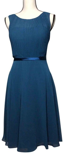 Item - Teal Flare Mid-length Formal Dress Size 2 (XS)