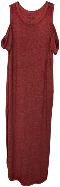 Item - Red Long Casual Maxi Dress Size 4 (S)