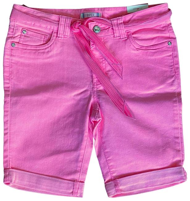 Item - Hot Pink Girls Jean Shorts Size OS (one size)