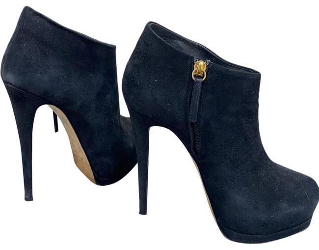 Item - Black Suede Boots/Booties Size EU 38 (Approx. US 8) Regular (M, B)