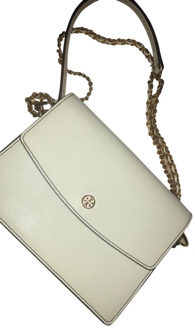 Item - Shoulder Robinson Convertible (Ivory) Leather Cross Body Bag