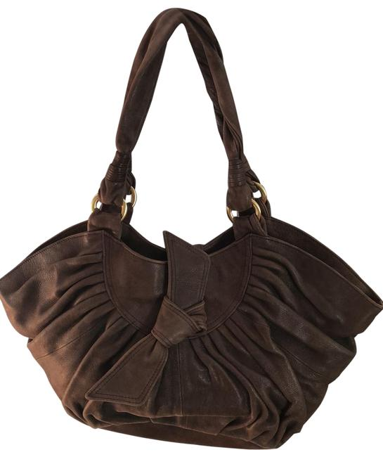 Item - Girls Chocolate Brown Leather Tote